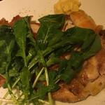Koume - 地鶏のモモ肉のコンフィ