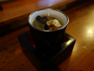 鳥益 - とら河豚の鰭酒