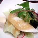 ぐりる屋島 - '08/12月チーズ付きサラダ