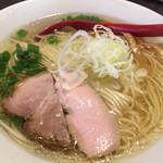 金町製麺 - 塩そば(700円)