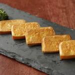 ・燻製焼きチーズ