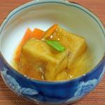 浅草じゅうろく - 高野豆腐の和蘭陀煮