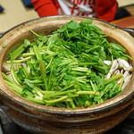 浅草じゅうろく - 鴨セリ鍋