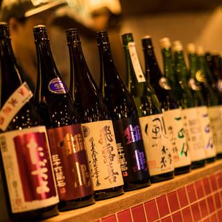 [240円~]全国の日本酒を常備60種