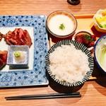 炭焼牛たん東山  - 『お昼の特選牛タンランチ+とろろ』様(3000円+250円)