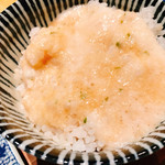 炭焼牛たん東山  - 牛タンのしぐれ煮もしっかり味でとろろ飯にめっちゃ合います!
