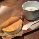 SHIROKANE   LOUNGE - パンケーキとスープ
