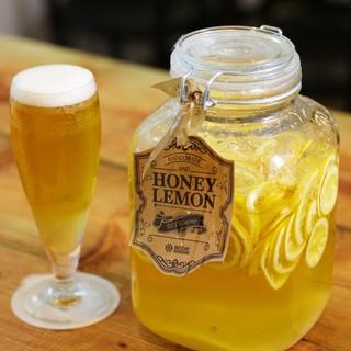 ビールが自慢!レモンビールとクラフトビール