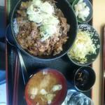 奈良屋ひよしまる - 料理写真:ぶた丼 大 税込660円