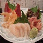 魚がし鮨 - 貝盛り合わせ