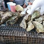 草津かき小屋 - 牡蠣