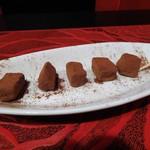 美ワイン処 R - 自家製生チョコ