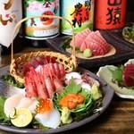 串焼旬菜 楽 - 刺盛