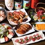 串焼旬菜 楽 - コース