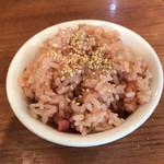 niboshichuukasobasuzuran - 炊き込みご飯    100円