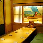 団欒炎 - ご宴会にイチオシの掘り炬燵のお座敷席!!