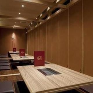 最大30名まで利用可能な完全個室あります!
