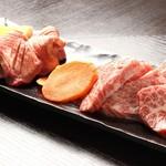 赤身肉とホルモンの店 惣 - 霜降り、黒毛和牛三角バラ