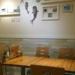 Cafe Dining fun - 店内(2階)