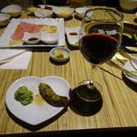 大阪屋 - 赤ワイン肉