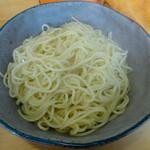 ラーメン加藤 - 「替玉」120円