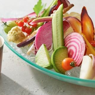 イタリア料理食材における代表的お野菜