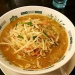 日高屋 - 料理写真:味噌ラーメン❗大盛‼