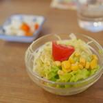 フジヤマプリン - サラダ