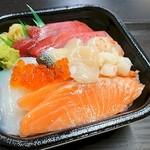 極海鮮 丼丸 - 海鮮丼 500円