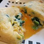 シェラトン グランデ オーシャンリゾート - 料理写真:オムレツ ホウレン草 玉葱 チーズ ハム