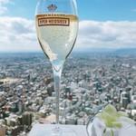 ワインラウンジ&レストラン セパージュ - ▲グラスシャンパン