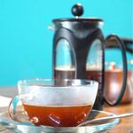 ボニーコーヒー東京 - 甘く紅茶ような味わいです。