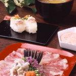 あかめ寿司 - 料理写真:活かわはぎ