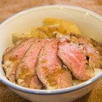 キッチン ソウショー - 黒毛和牛ローストビーフ丼