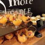 ジェイエスパンケーキカフェ - オレンジベリージュレ@オレンジ味うすめ。こちらもゼライス!なry