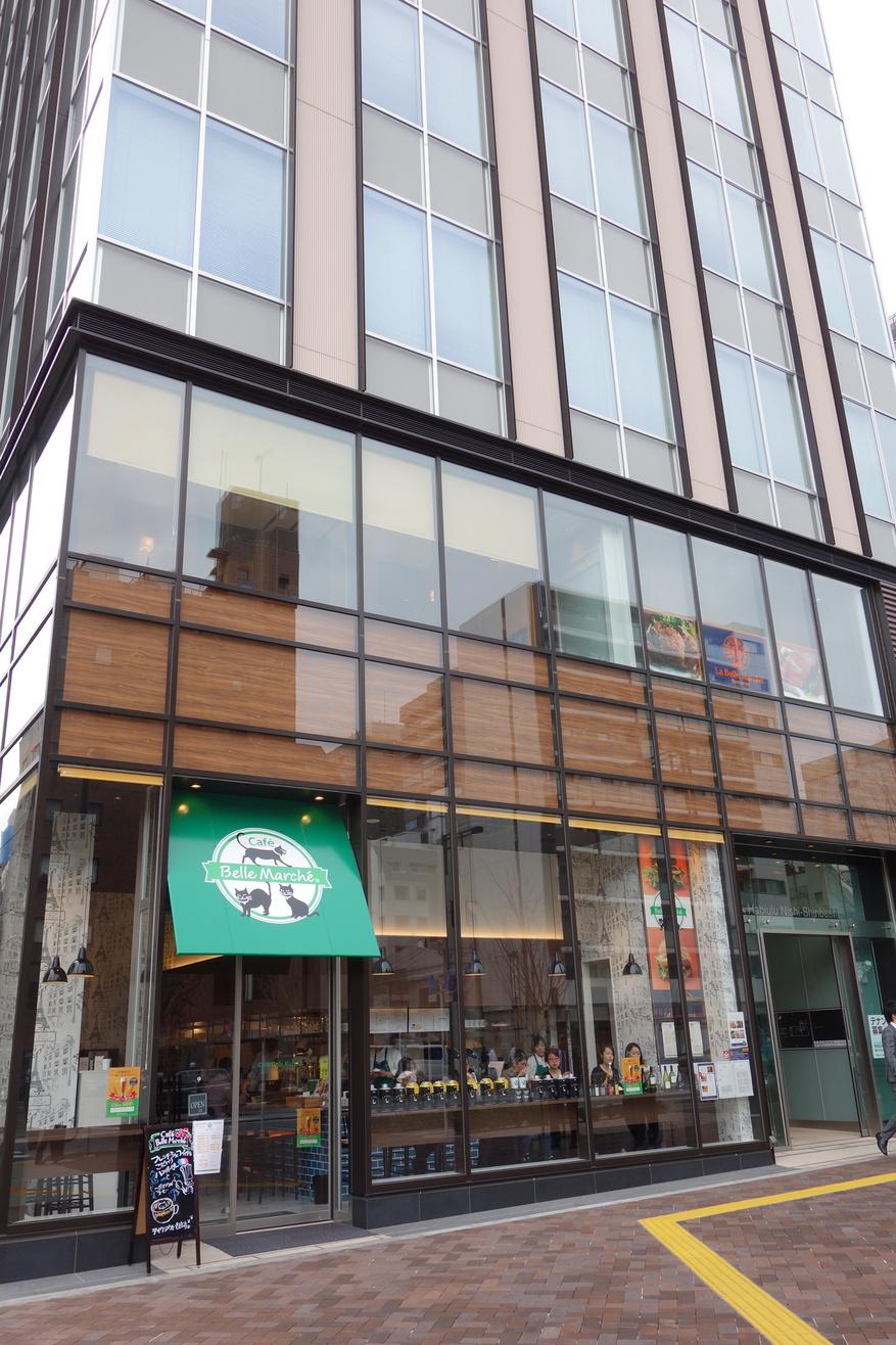 カフェ ベル マルシェ 新虎通り店