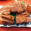 かなぐすく - 料理写真:豚三枚肉の煮付け