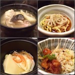 63204257 - 塩ちゃんこ、柚子ラーメン、茶碗蒸し、酢豚&チャーハン