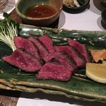 祢々 - いちぼ肉炙り(2,400円)