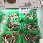 かき小屋 - 食べ放題用殻付き牡蠣 90分 2500円 一盛り1000円