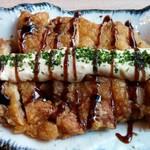 63207045 - ふもと赤鶏の黒酢南蛮タルタルランチ