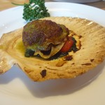 つばめグリル - 帆立貝のガーリック風味焼き