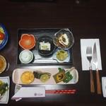 五感の湯つるや - 料理写真:夕食