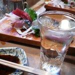 栄寿司小吉 - お造りと冷酒