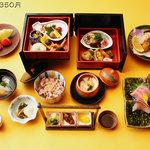 懐石料理にしやま - 料理写真:懐石弁当/醍醐 7700円