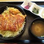 とんかつ 金豚 - 信州ポークのソースカツ丼