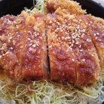 とんかつ 金豚 - ソースかつ丼