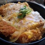 とんかつ 金豚 - 信州ポークの卵とじカツ丼