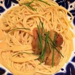 オイスター&ワイン ペスカデリア - 生ウニのスパゲッティ