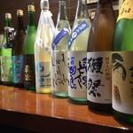 旬菜 海山 - ドリンク写真:地酒